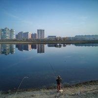 рыбалка в тихом ноябре :: Алексей Меринов