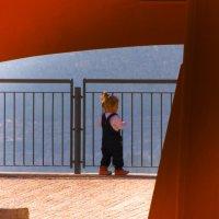 Девочка в красных сапожках :: Alla S.