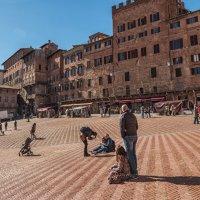 Сиена. Piazza del Campo. :: Надежда Лаптева