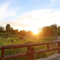 Закат на Алтае :: ДмитрийМ Меньшиков