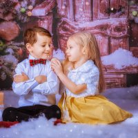 Новогодняя открытка 2 :: Ольга Егорова