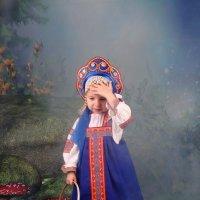 """Виктория в """"Волшебном лесу"""" :: Михаил Новиков"""