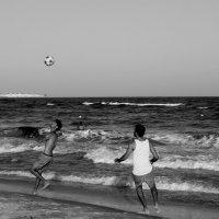 Пляжный футбол :: Алексей Поляков