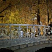 Был мост кому-то   местом встреч...... :: Tatiana Markova