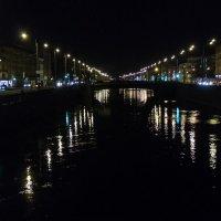 Огни Обводного канала :: Людмила Волдыкова