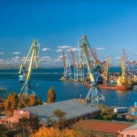 Осень над Одесским заливом. :: Вахтанг Хантадзе