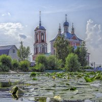 У церкви :: Сергей Цветков