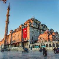 Мечеть Фатиха на закате :: Ирина Лепнёва