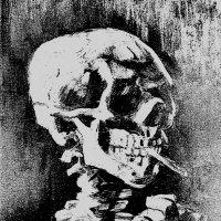 череп с сигаретой :: Юлия Денискина