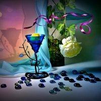 Синие стекляшки :: Наталия Лыкова