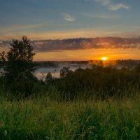 Всходило солнце за рекой и начиналось утро :: Сергей Дишук