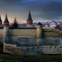 Старый замок Каменец-Подольской крепости в Украине :: Sergey-Nik-Melnik Fotosfera-Minsk