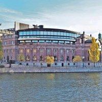 Здание Риксдага Стокгольм :: Swetlana V