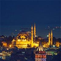 Очарование ночного Стамбула :: Ирина Лепнёва