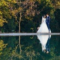 свадебное отражение :: Hурсултан Ибраимов фотограф