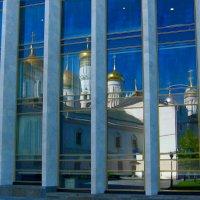 Золотое Зазеркалье :: Vera Ostroumova
