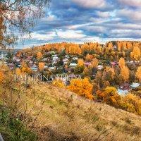 Вид на городок Плёс :: Юлия Батурина