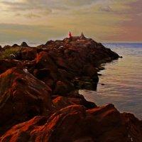 На красных камнях :: Alexander Andronik