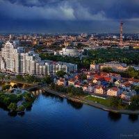 Город в лучах заката :: Sergey-Nik-Melnik Fotosfera-Minsk