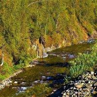 Бежит речка, берега крутые :: Сергей Чиняев
