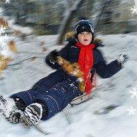 По первому снегу... :: Александр Мартынов