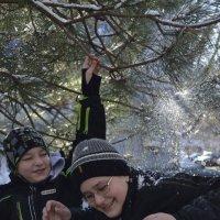 Пеpвый снег :: Анастасия Фомина