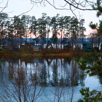 Осенний вечер в Боровом :: Гузель Горбунова