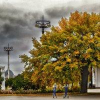 Осень на ВДНХ :: Виктор Заморков