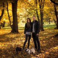 Прогулка в парке. :: Anna Leshtshenko