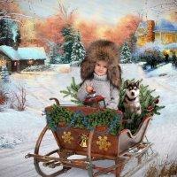 Новогодний коллаж :: Евгений Наместников