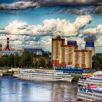 Питер вид с Вантового моста :: Юрий Плеханов