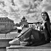 Лето, столица, мост, храм :: Евгения Турушева