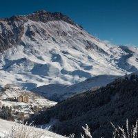первый снег в горах :: Вадим Бурмистров