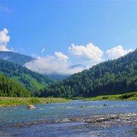 Улетает туман лёгким облаком :: Сергей Чиняев