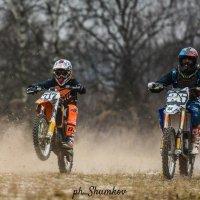 Борьба на старте :: Алексей Шумков