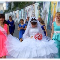 Выше голову невеста. :: Anatol Livtsov