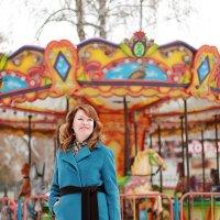 Прогулка по зимнему парку :: Светлана Каритун