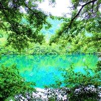 Голубое озеро. :: Ольга Зубова