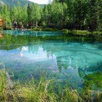 Голубое озеро.... :: Стил Франс