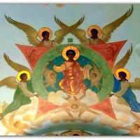 Фреска в Свято-Троицкой Сергиевой Лавре. :: Елена