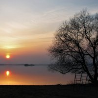 Банально -> закат :: Leonid Voropaev