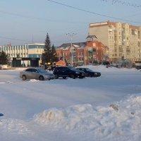 Зима в городе . :: Мила Бовкун