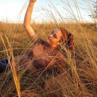 """Девушка в травах"" :: Кристина"