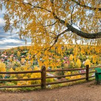 Панорама Плёса с Соборной горы :: Юлия Батурина