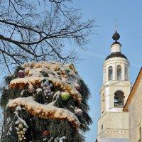 К новогодним праздникам готовы, в Толгском монастыре :: Николай Белавин