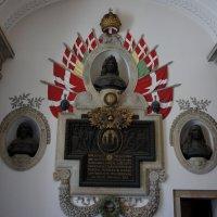 Внутри арки при входе во двор Дворца Кристиансборг, где собирается Парламент страны :: Елена Павлова (Смолова)