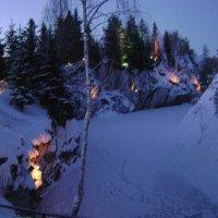 Каньон Рускеала зимой :: Марина Домосилецкая