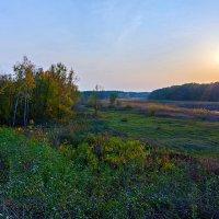 На закате , под осень. :: Владимир