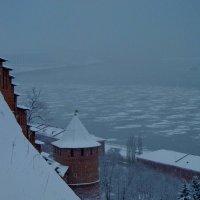 Туман над Волгой :: Наталья Сазонова