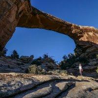 Другой ракурс арочного моста Owachomo (юг штата Юта, США). :: Юрий Поляков